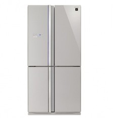 Sharp Double french Door Fridge SJ-FS79V-SL_1